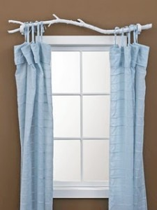 Curtain Rod with TREE Branches