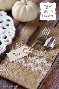 Fabric Utensil Holder