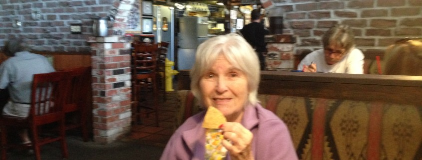 Mom at Habanero Hots